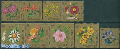 Flowers airmail 9v