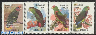 Lubrapex, parrots 4v