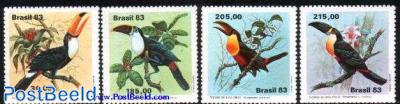 Birds/ toucans 4v