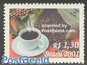 Coffee 1v, fragrant stamp