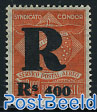 Syndicato Condor 1v, overprint