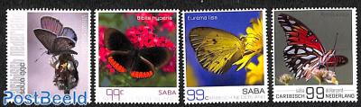 Saba, Butterflies 4v