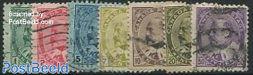 Definitives, king Edward VII 7v