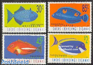 Definitives, fish 4v