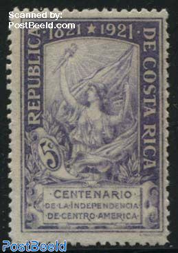 Independence centenary 1v
