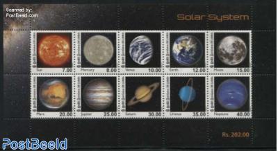 Solar System 10v m/s