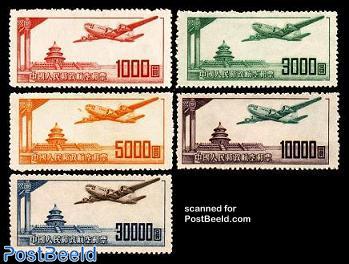 Aeroplanes 5v