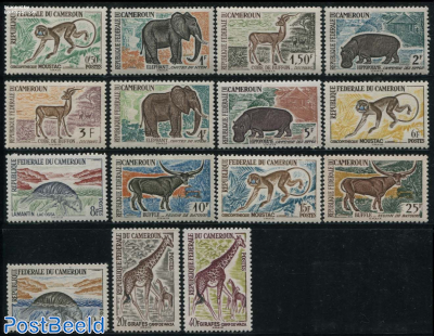 Definitives, animals 15v