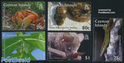 Darwin, animals 5v
