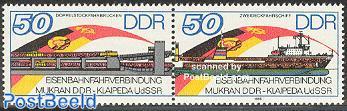 Mukran/Klaipeda railway ferry 2v [:]