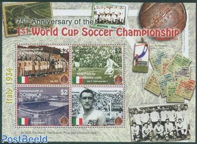 World Cup Football 4v m/s, Italy 1934