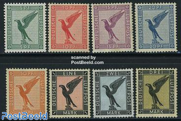 Airmail definitives 8v