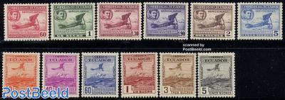 First postal flight 12v
