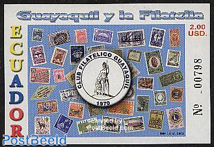 Guayaquil & philately s/s