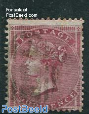 4p Redcarmine, Queen Victoria
