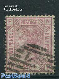 2.5p Lilarosa, Queen Victoria