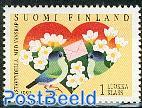 Greeting stamp 1v, joint issue Estonia