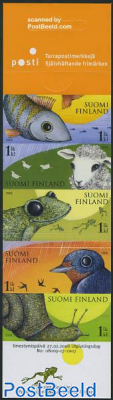 Weather warning animals 5v in booklet s-a