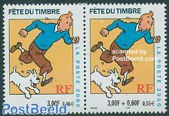 Tintin 2v from booklet