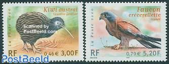 Birds 2v, joint issue New Zealand