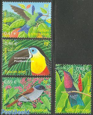 Birds overseas 4v