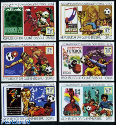 World Cup Football 6v imperforated
