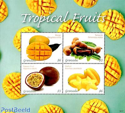 Tropical fruits 4v m/s