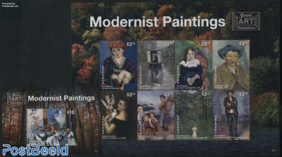Modernist Paintings 2 s/s