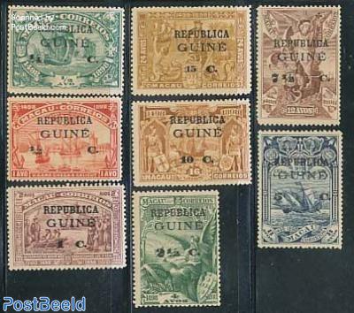 Vasco da Gama on Macau stamps 8v