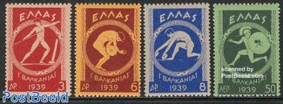 Balkan games 4v