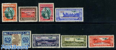 Philatelic exposition 8v
