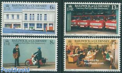 Postal independence 4v