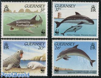 WWF, sea life 4v