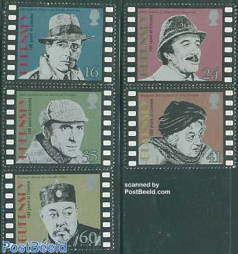 Film centenary 5v