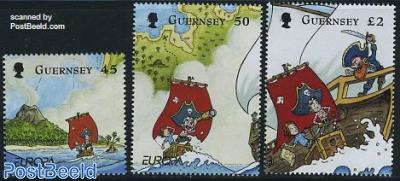 Europa, childrens books 3v