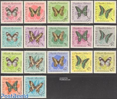 Butterflies 17v