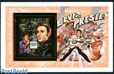 Elvis Presley s/s, gold