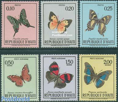 Butterflies 6v