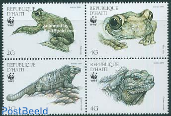 WWF, Frogs 4v [+]