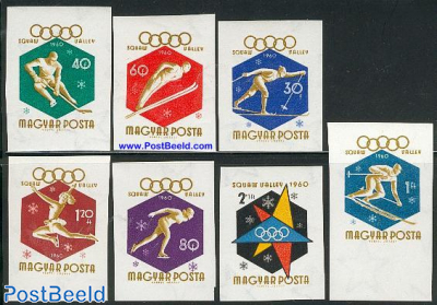 Olympic Winter Games 7v imperforated
