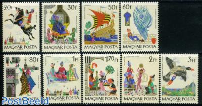 Oriental fairy tales 9v