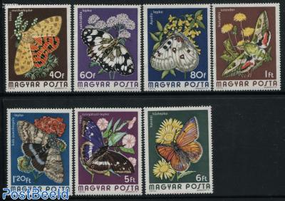 Butterflies 7v