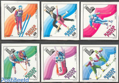 Olympic Winter Games 6v imperforated