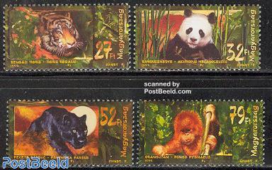 Asian animals 4v