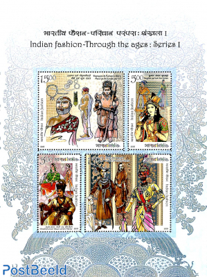 Fashion through the ages, series I m/s