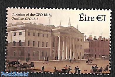 200 years General Post office 1v