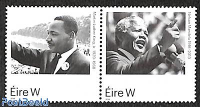 Martin Luther King, Nelson Mandela 2v [:]