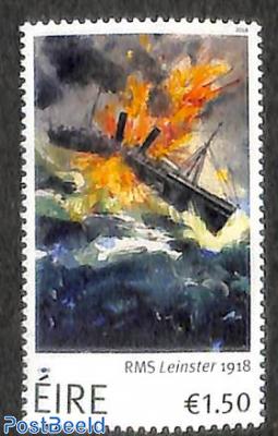 RMS Leinster 1918 1v