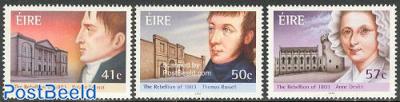 Rebels of 1803 3v