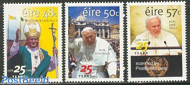 25 years pope 3v